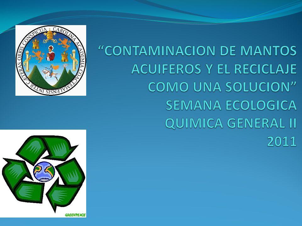 Contaminación del agua Composición química - lluvia - área de drenaje -erosión - solubilización de los suelos - cambios climáticos - interacción con centros urbanos e industriales