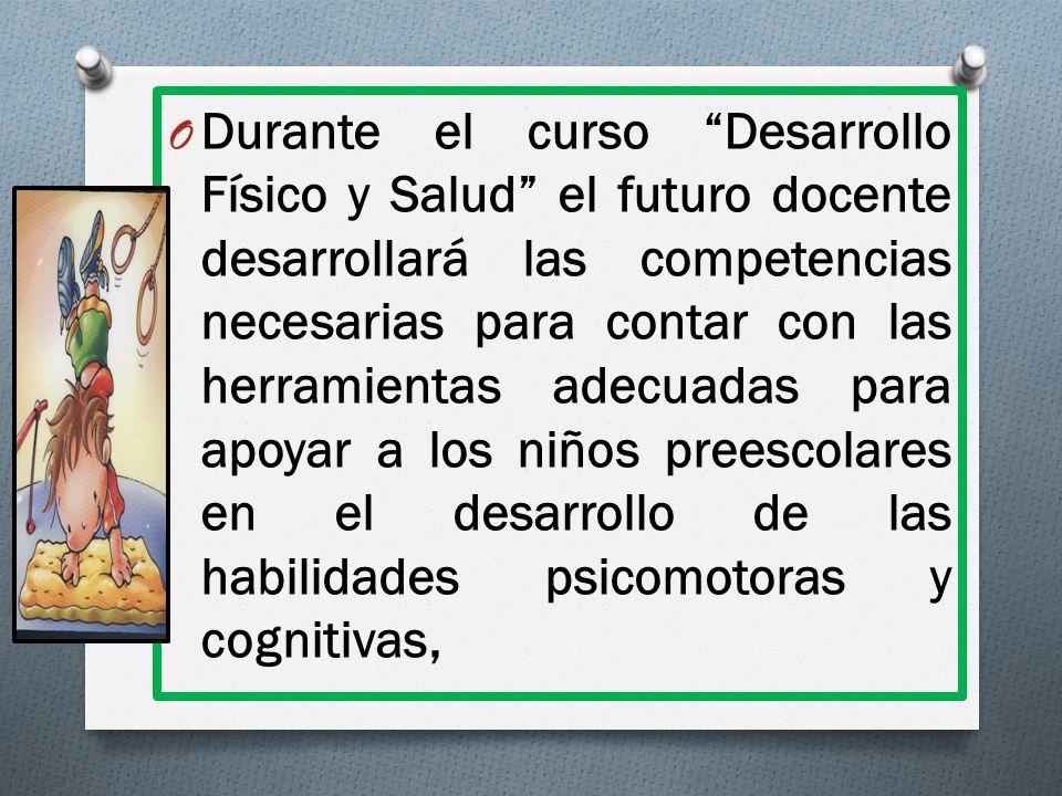 COMPETENCIAS DEL PERFIL DE EGRESO A LAS QUE CONTRIBUYE EL CURSO DE DESARROLLO FÍSICO Y SALUD