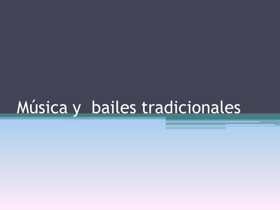 La música tradicional La música tradicional, música folclórica, música típica o folk es la música que se transmite de generación en generación (y hoy día también de manera académica) como una parte más de los valores y de la cultura de un pueblo