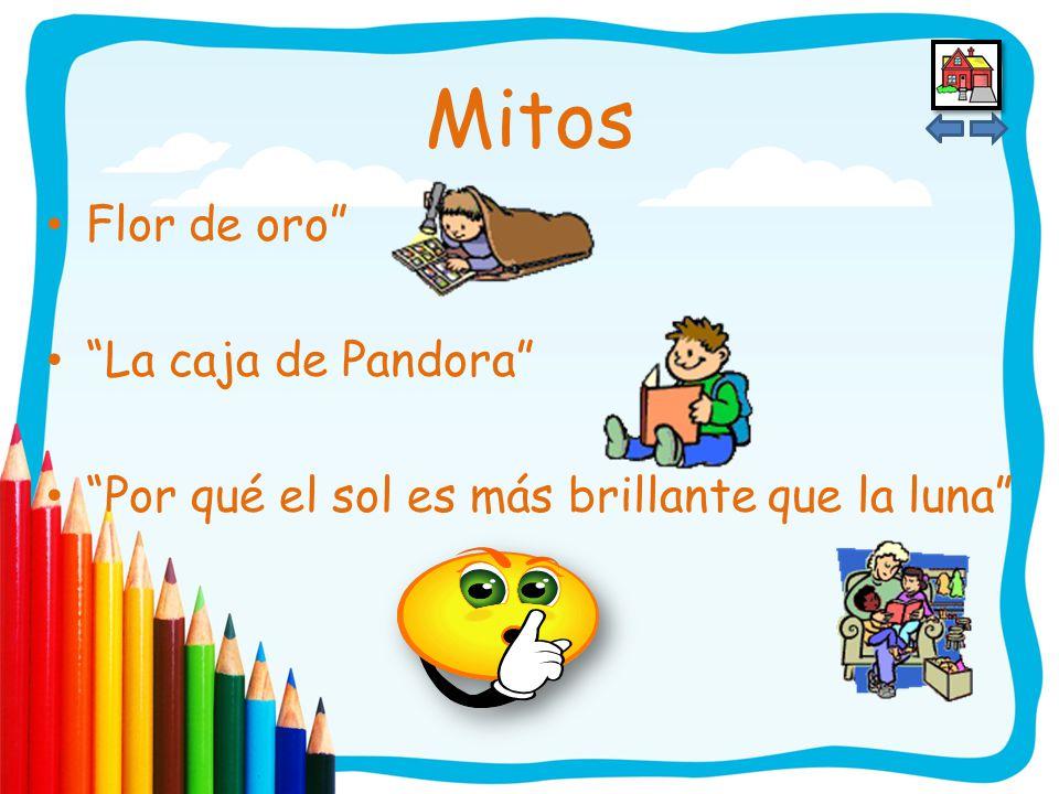 Conoce mitos apropiados para el nivel preescolar