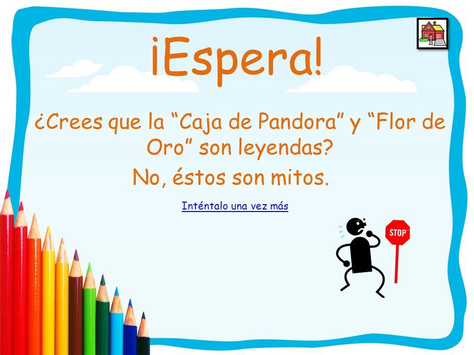 ¡Felicitaciones! Guayaquil y La taína Guanina y el Sotomayor son leyendas adecuadas para el nivel preescolar. Sigue adelante