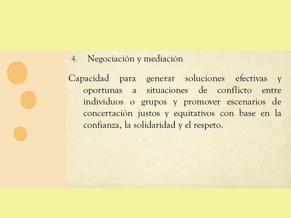 COMPETENCIAS PEDAGÓGICAS 4.