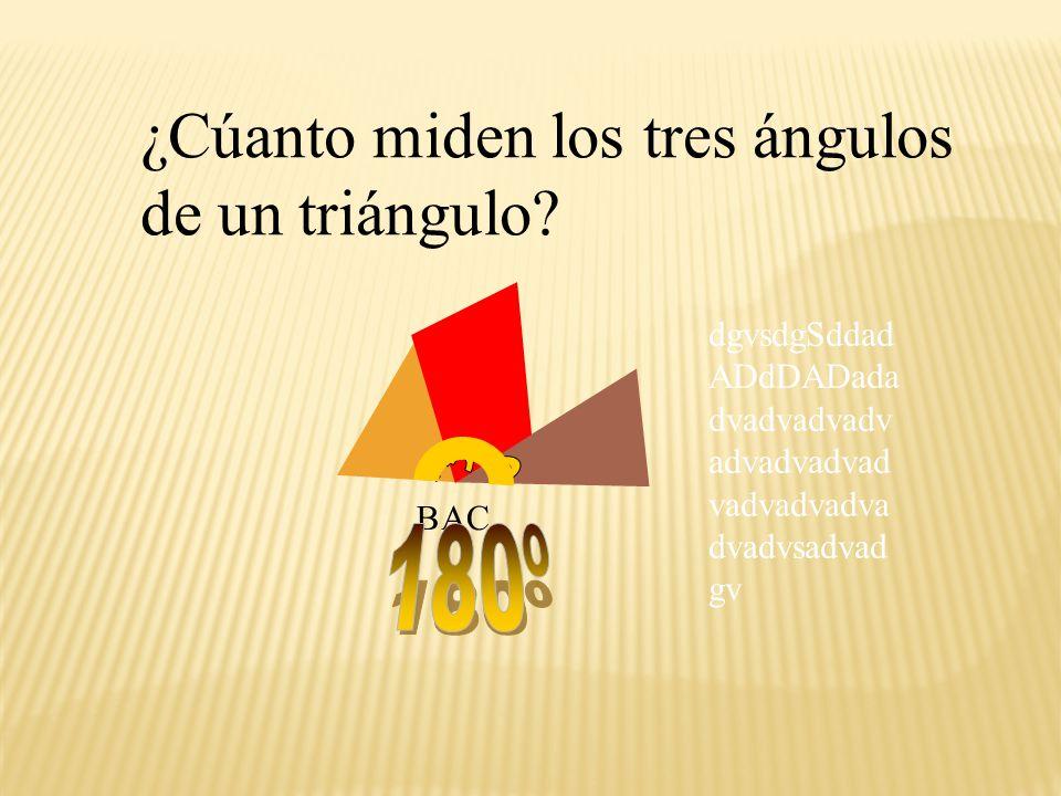 ABC Los giramos y unimos los tres ángulos marcados, que son los del triángulo.