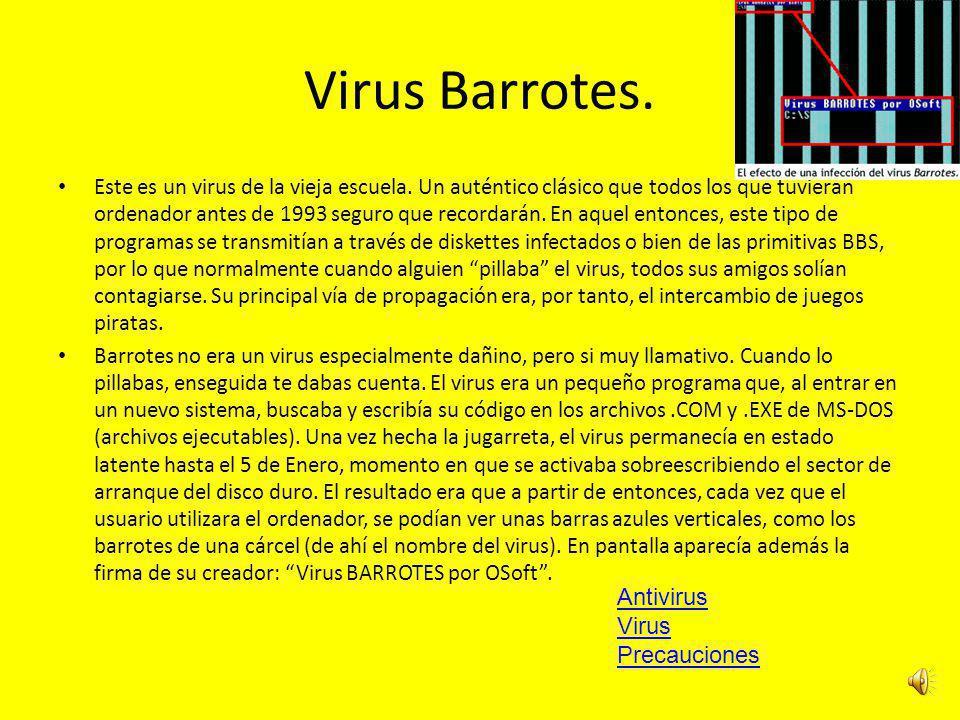 Virus Recidentes.