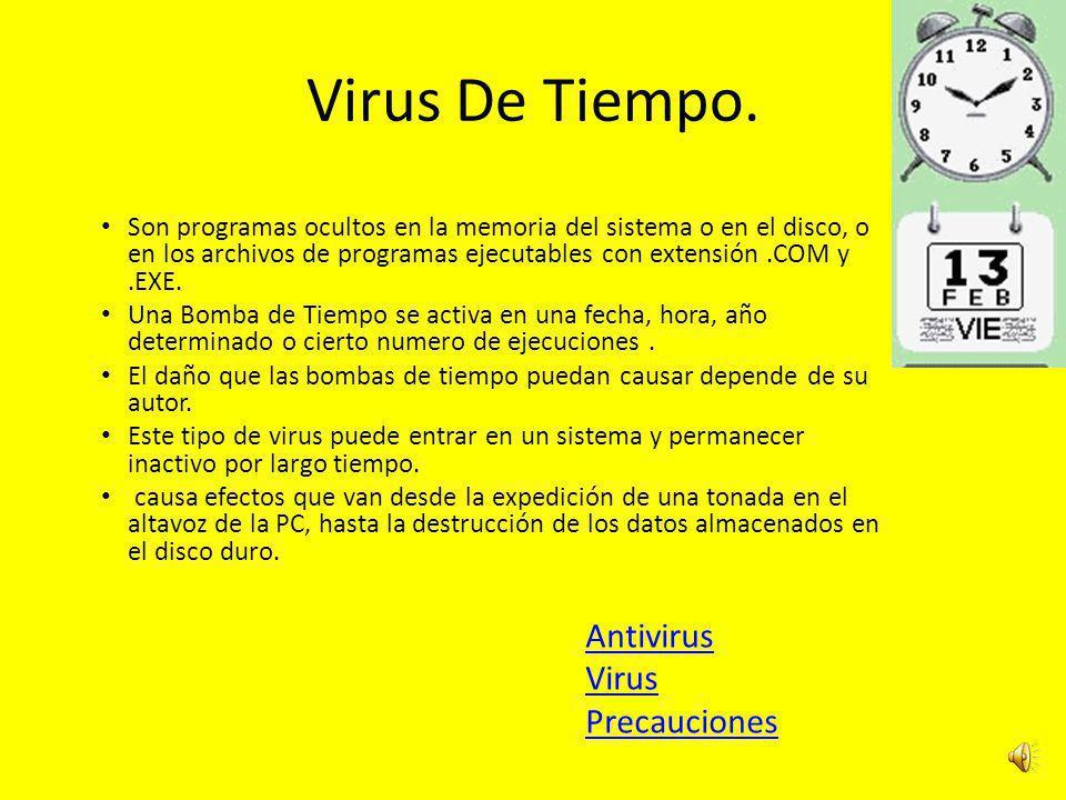 Gusano. es un malware que tiene la propiedad de duplicarse a sí mismo. Los gusanos utilizan las partes automáticas de un sistema operativo que general