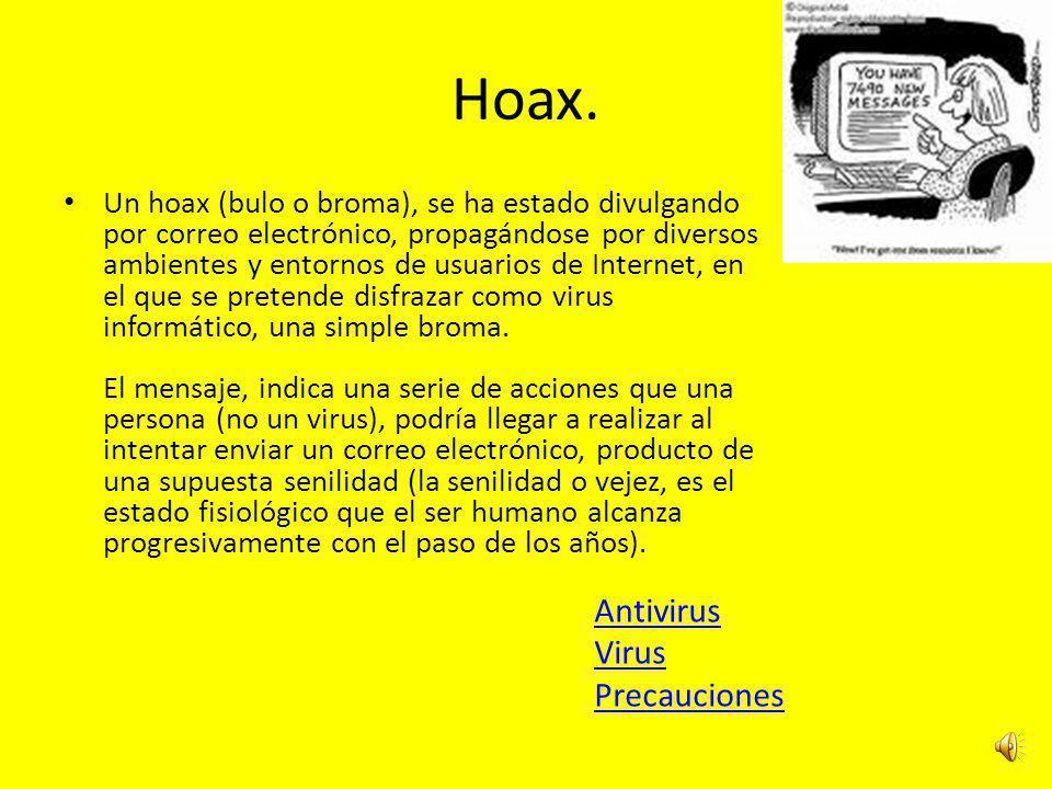 Hoax.