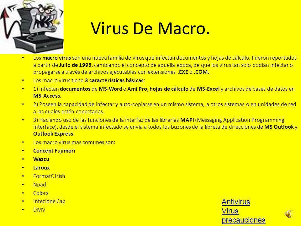 Virus De Macro.