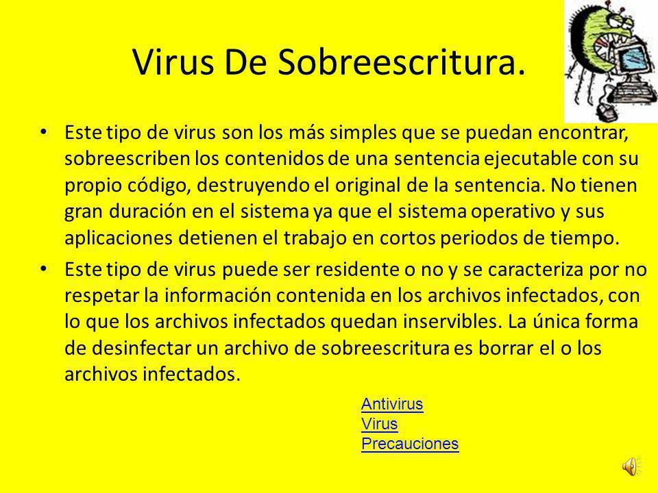 Virus De Macro. Los macro virus son una nueva familia de virus que infectan documentos y hojas de cálculo. Fueron reportados a partir de Julio de 1995