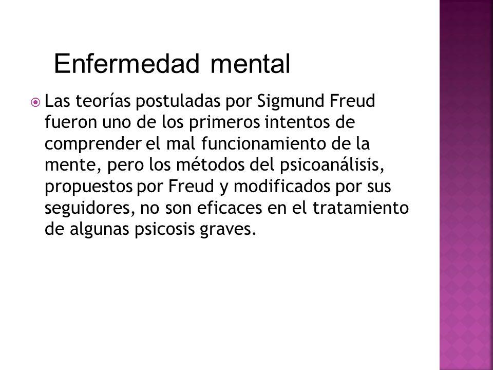 Las teorías postuladas por Sigmund Freud fueron uno de los primeros intentos de comprender el mal funcionamiento de la mente, pero los métodos del psi