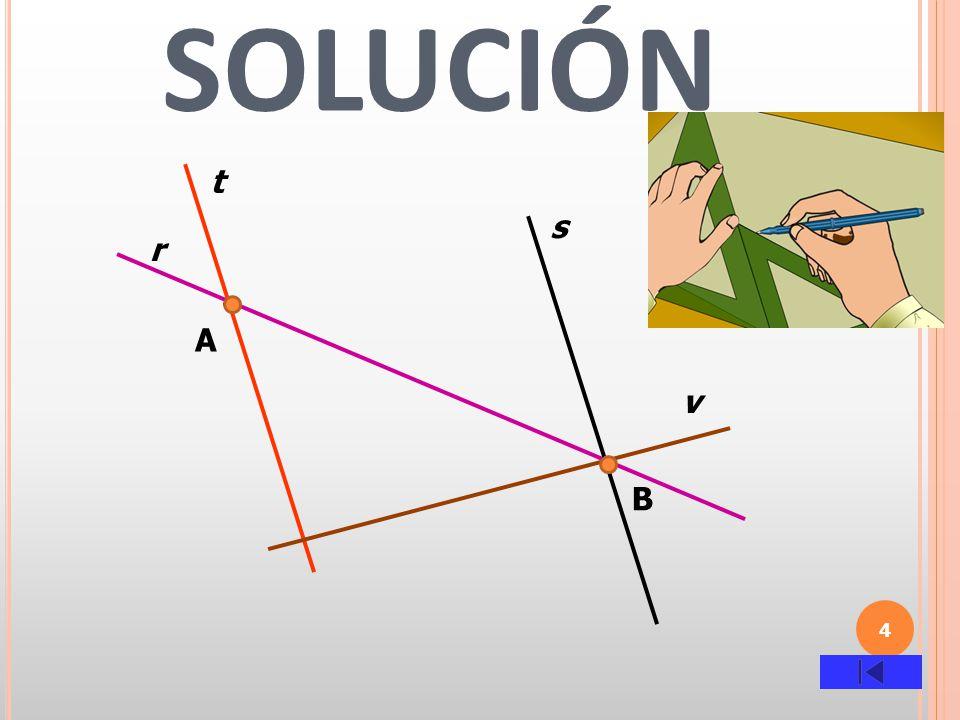 5 EJERCICIO 2 Con regla y transportador, dibuja un segmento de 7 centímetros(puntos M Y N).