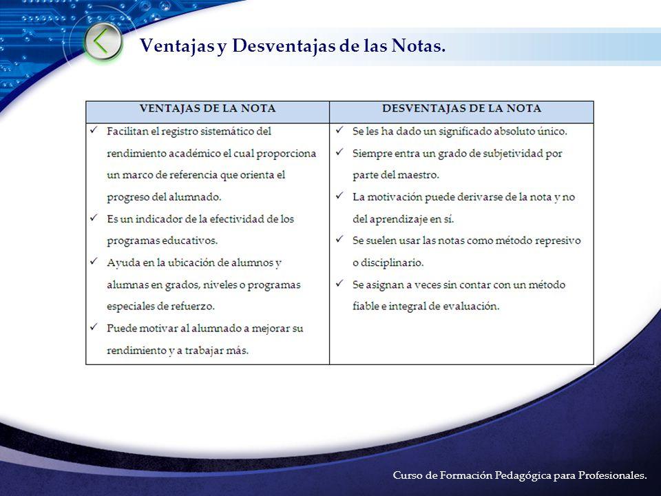 LOGO Curso de Formación Pedagógica para Profesionales.