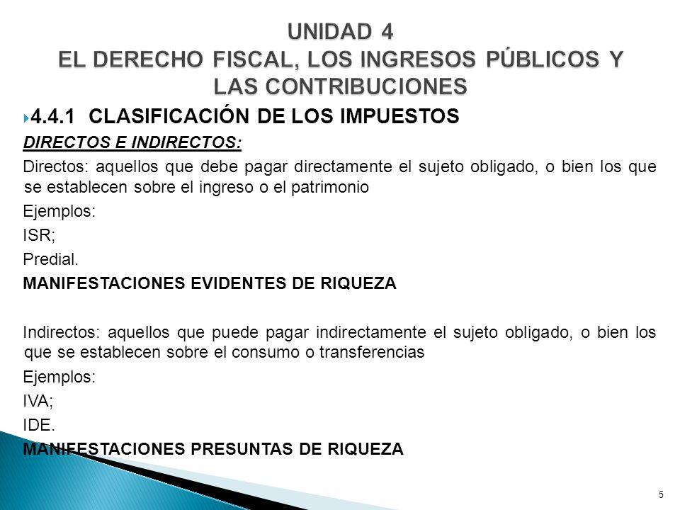 4.4.4 APORTACIONES DE SEGURIDAD SOCIAL INFONAVIT ISSSTE ISSFAM IMSS 4.4.5 ACCESORIOS DE LAS CONTRIBUCIONES Último párrafo del artículo 2° del CFF …Los recargos, las sanciones, los gastos de ejecución 16