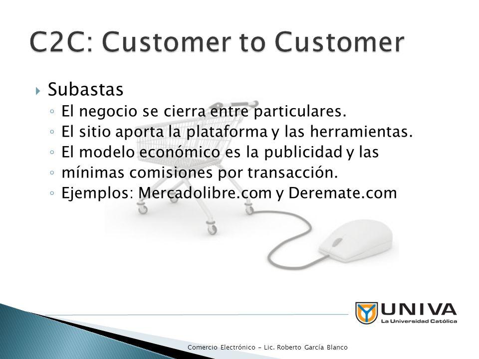 Existen dos tipos especiales de infomediarios de la confianza: el facilitador de pagos el facilitador de la confianza.