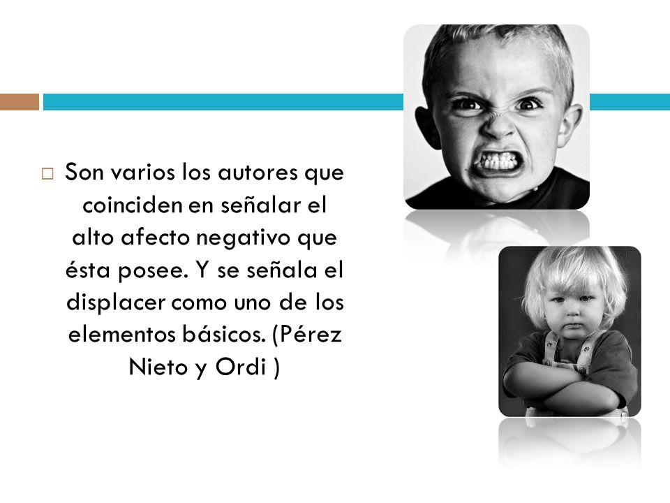 Rasgos faciales que la caracterizan Cejas bajas, contraídas Párpado inferior tensionado Labios tensos o en ademán de gritar; y mirada prominente (Chóliz, 1995).
