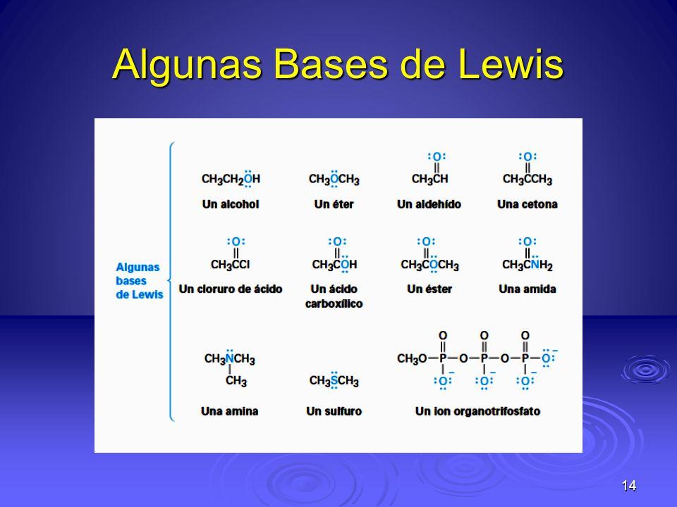 Algunas Bases de Lewis 14