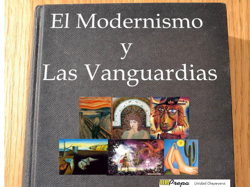 Modernismo : Finales de siglo XIX.Inicio: En Hispanoamérica.