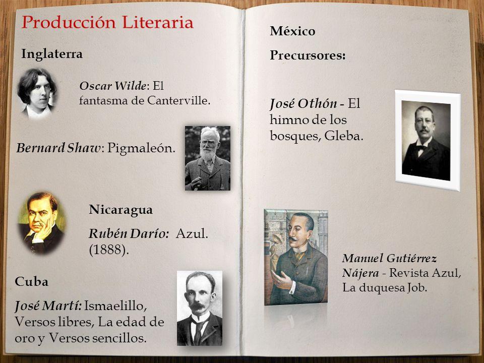 Inglaterra México Precursores: José Othón - El himno de los bosques, Gleba.