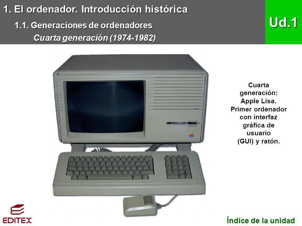 1.El ordenador. Introducción histórica 1.1.