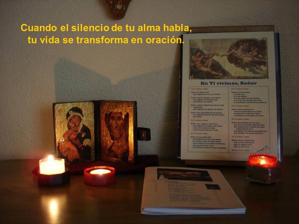 Vita Noble Powerpoints Cuando el silencio de tu corazón habla, la vida se transforma en amor.