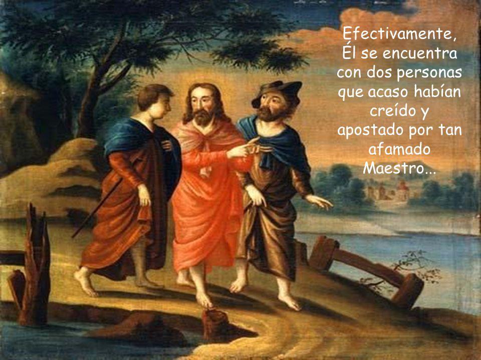 La maravillosa narración de Lucas nos pone ante uno de los diálogos más bellos e impresionantes de Jesús con los hombres.
