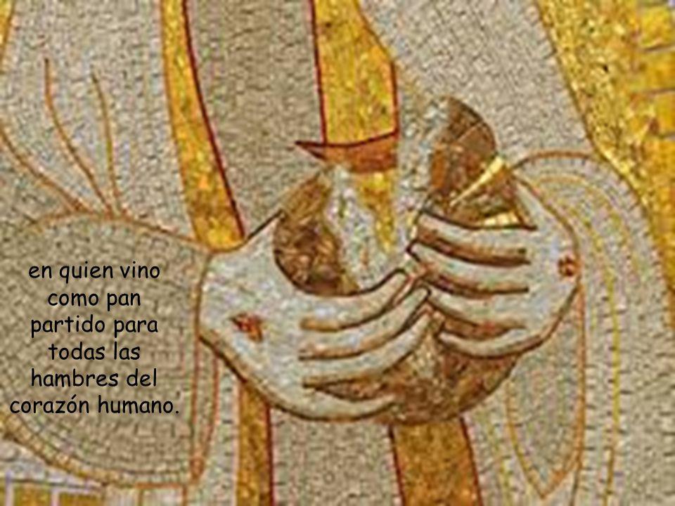 les explicará la Escritura y les partirá el pan, narrando la tradición de todo el Antiguo Testamento que confluye en su Persona,