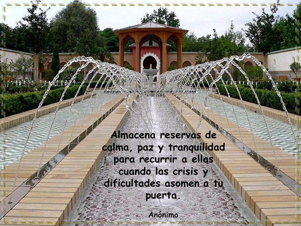 www.vitanoblepowerpoints.net Almacena reservas de calma, paz y tranquilidad para recurrir a ellas cuando las crisis y dificultades asomen a tu puerta.