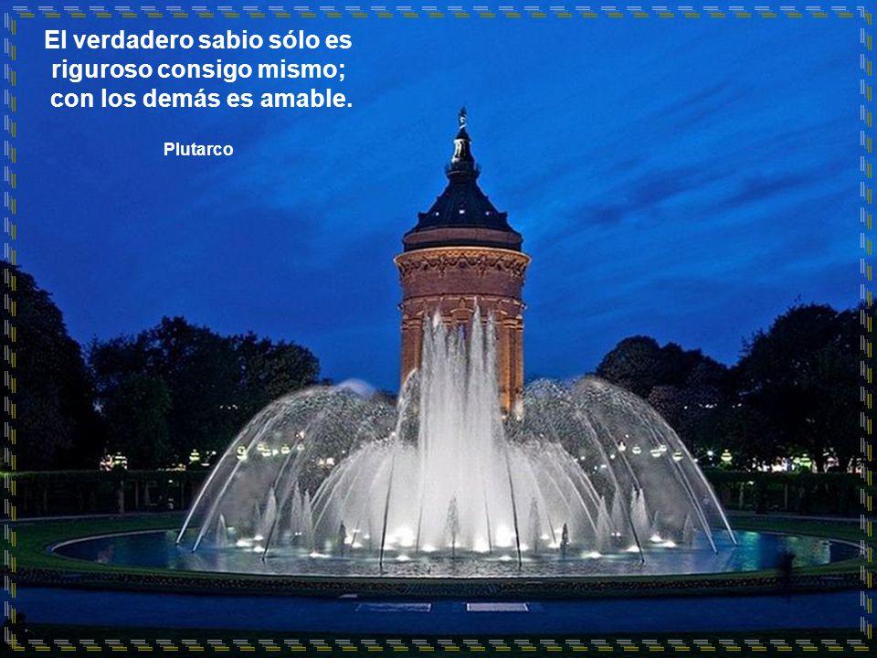 www.vitanoblepowerpoints.net El verdadero sabio sólo es riguroso consigo mismo; con los demás es amable.