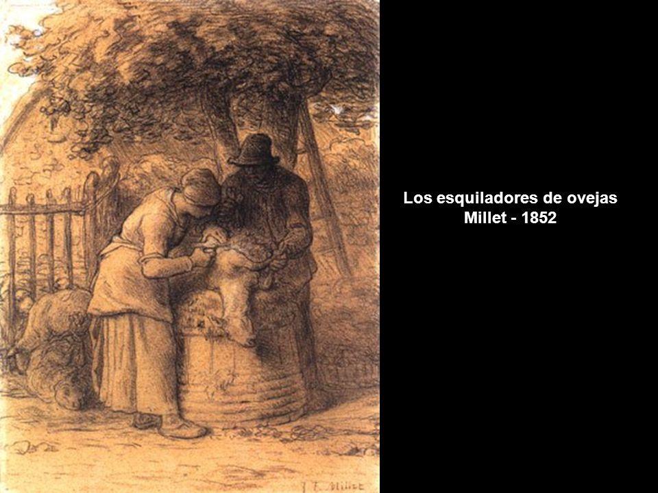 www.vitanoblepowerpoints.net Van Gogh consideraba que copiar el motivo del cuadro de otro no suponía dejar de crear al mismo tiempo una obra nueva y su teoría no es difícil de entender si se comparan sus vivos colores, su riquísima técnica impresionista, al clasicismo, a los colores oscuros de Millet.