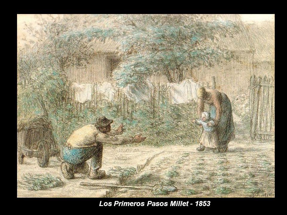 www.vitanoblepowerpoints.net Fue a sus 22 años cuando Vincent Van Gogh descubrió por azar la obra de Millet, pocos meses después de la muerte de éste, pero su admiración por él aumentaría con el tiempo cada vez más.