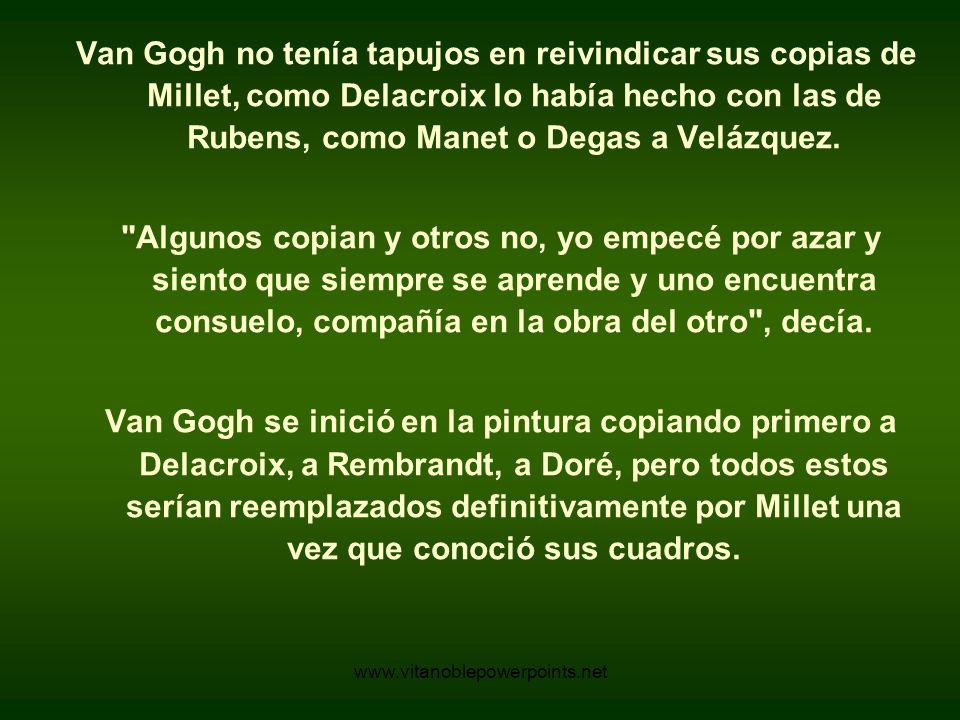 www.vitanoblepowerpoints.net La Siesta Van Gogh - 1889