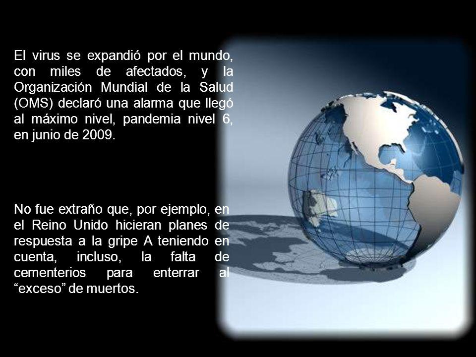 1. UN POCO DE HISTORIA En abril de 2009 se inició un brote epidémico de gripe en Méjico, con alta mortalidad y contagiosidad. Se denominó gripe A. En