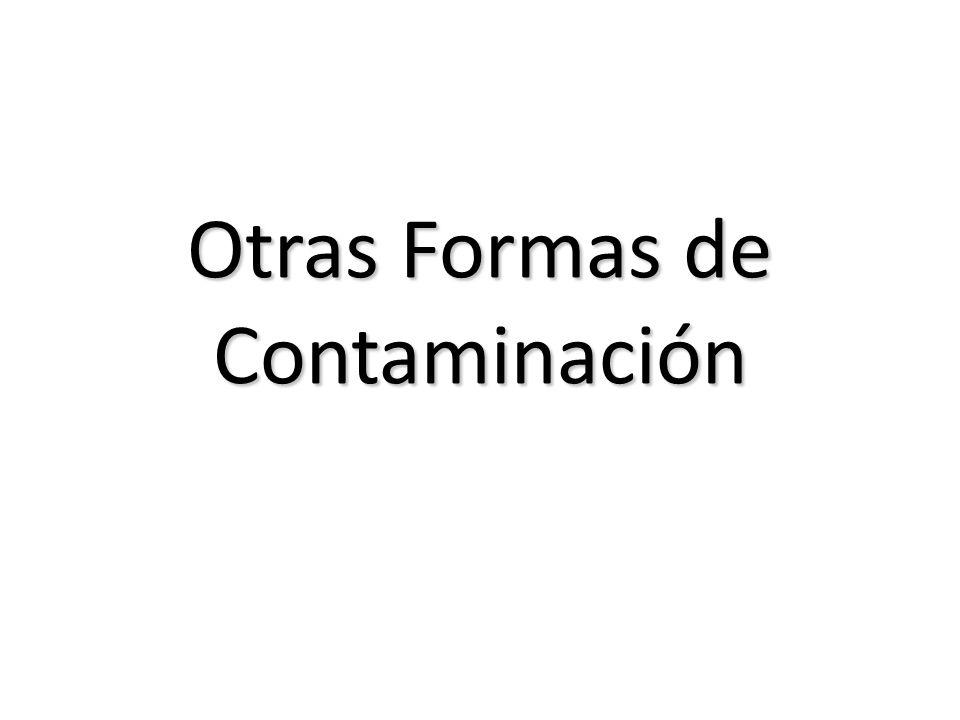 Otras Formas de Contaminación
