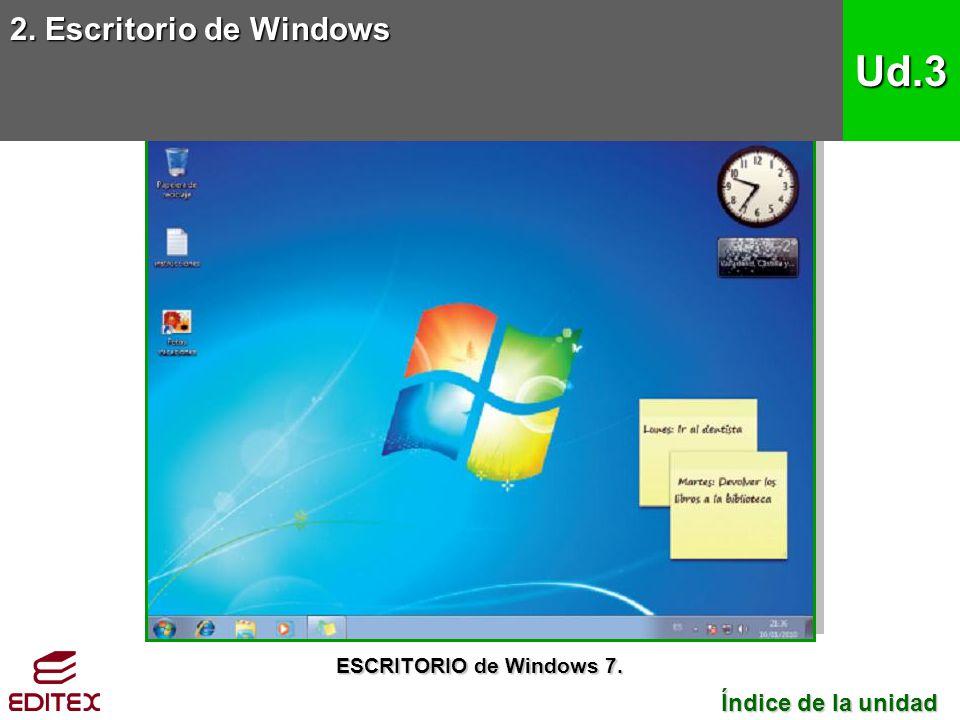 2.Escritorio de Windows 2.1.