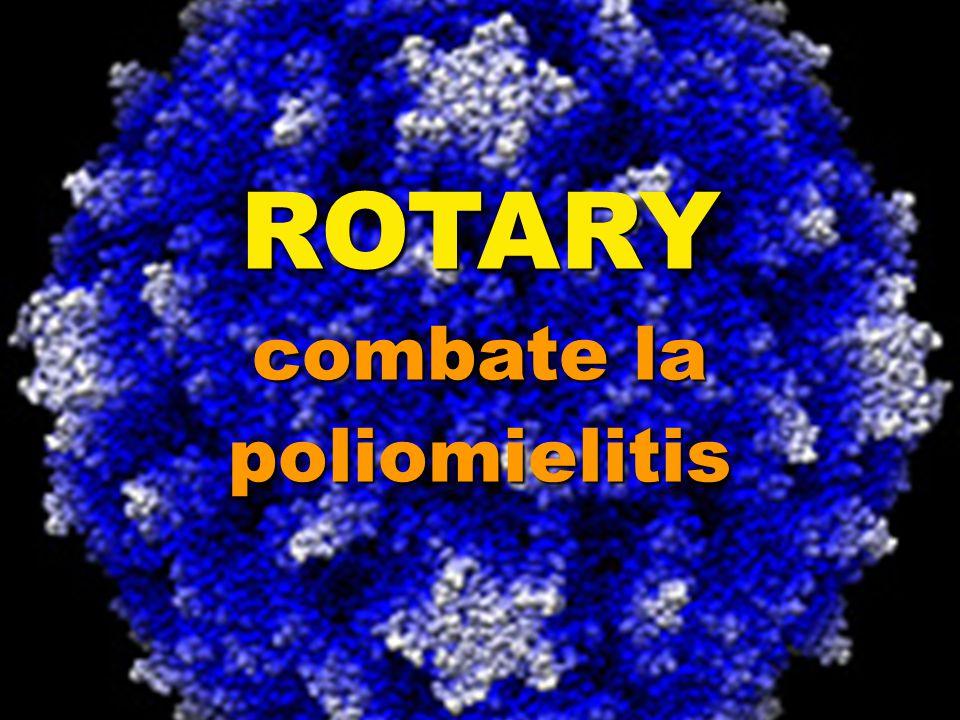 ROTARY combate la poliomielitis