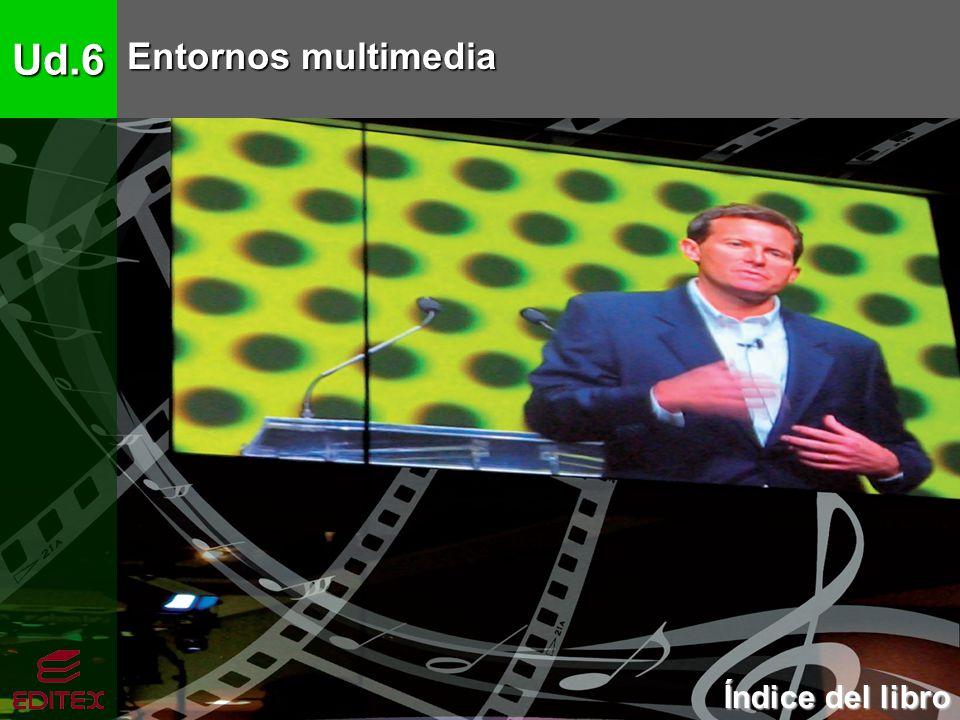 Ud.6 Entornos multimedia 1.Conceptos básicos de multimedia 1.1.