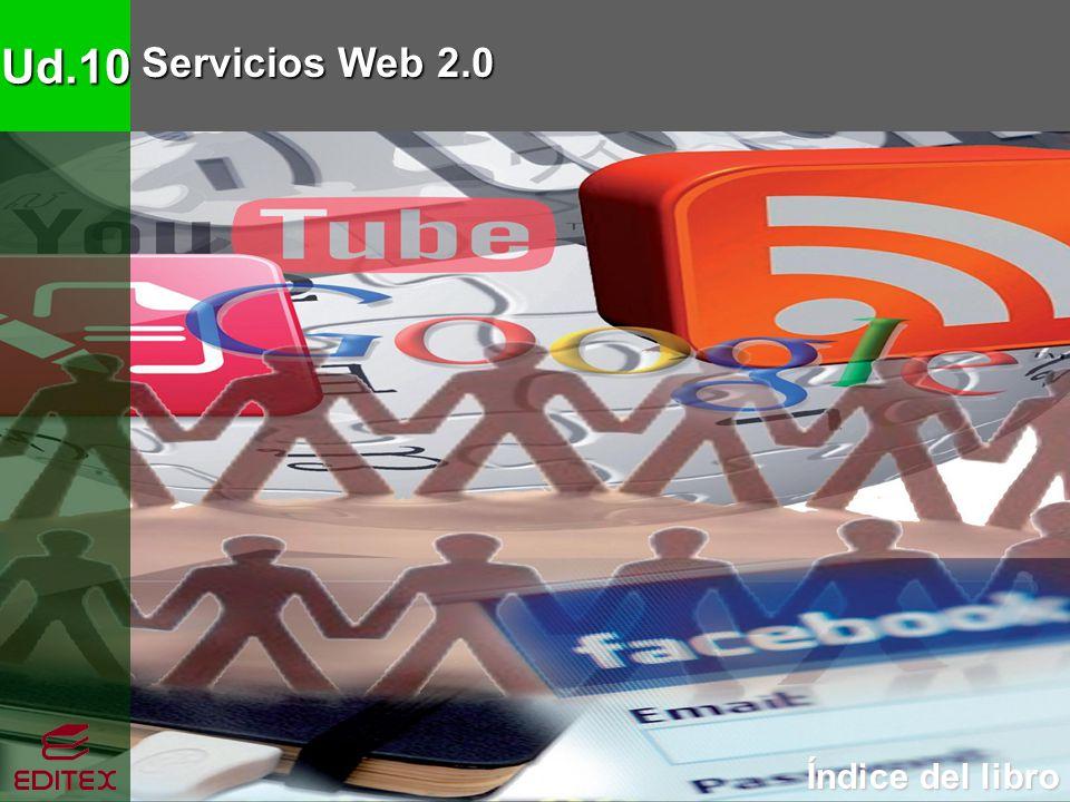 Ud.10 Servicios Web 2.0 Índice del libro Índice del libro
