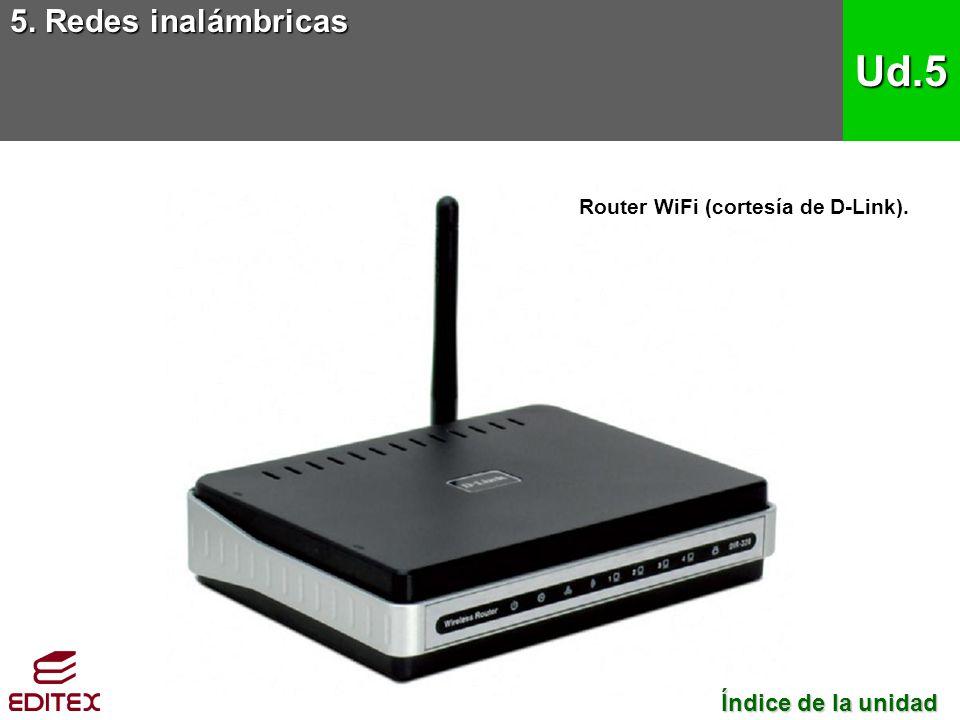 5. Redes inalámbricas Ud.5 Índice de la unidad Índice de la unidad Router WiFi (cortesía de D-Link).