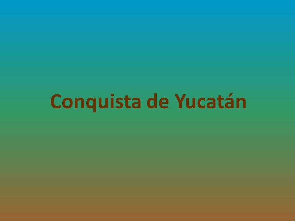 Los cacicazgos mayas al inicio de la conquista Cuando los españoles comenzaron a tener contacto con la península de Yucatán, la organización política y social del pueblo maya se encontraba formada por un conjunto de «cacicazgos», o estados independientes, producto de la disolución de la antigua Liga de Mayapán.