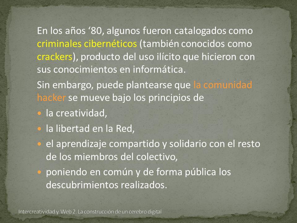 En los años 80, algunos fueron catalogados como criminales cibernéticos (también conocidos como crackers), producto del uso ilícito que hicieron con sus conocimientos en informática.