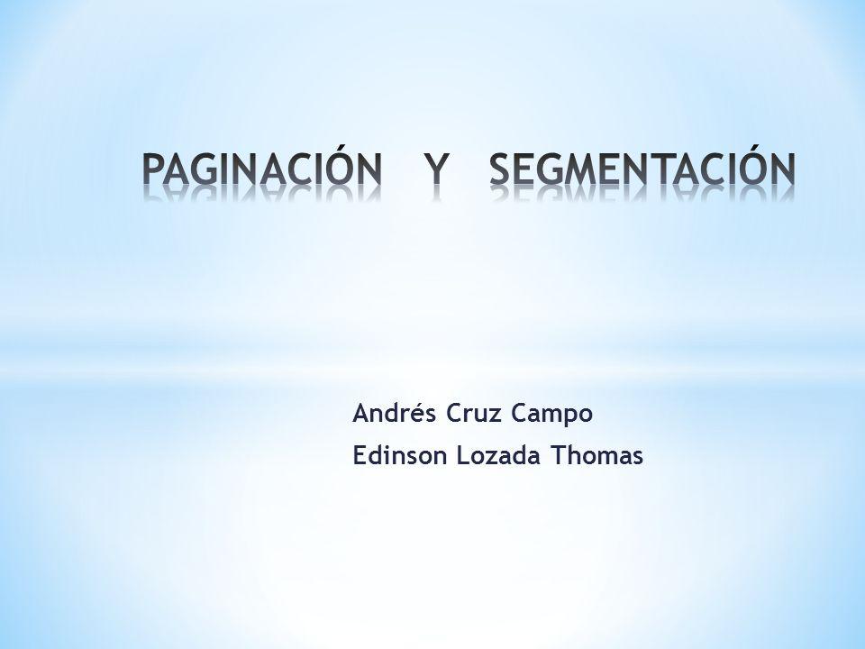 Andrés Cruz Campo Edinson Lozada Thomas