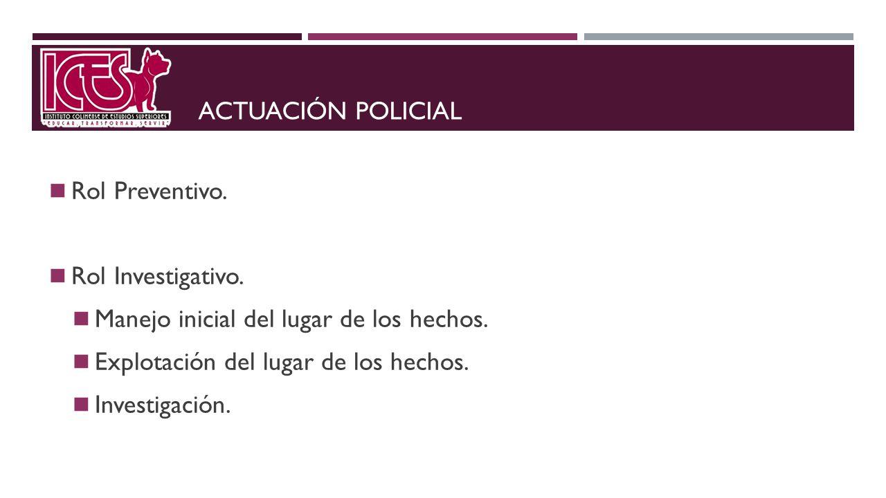RECONOCIMIENTO PRELIMINAR Y PROCESAMIENTO DE EVIDENCIA 1.