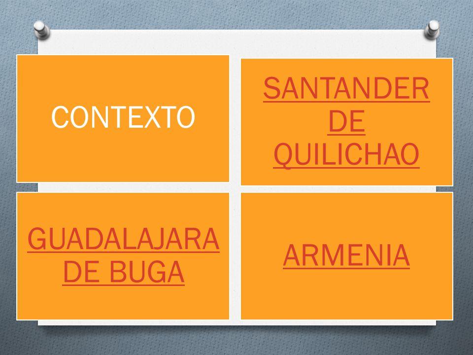 GUADALAJARA DE BUGA CONTEXTO SANTANDER DE QUILICHAO ARMENIA