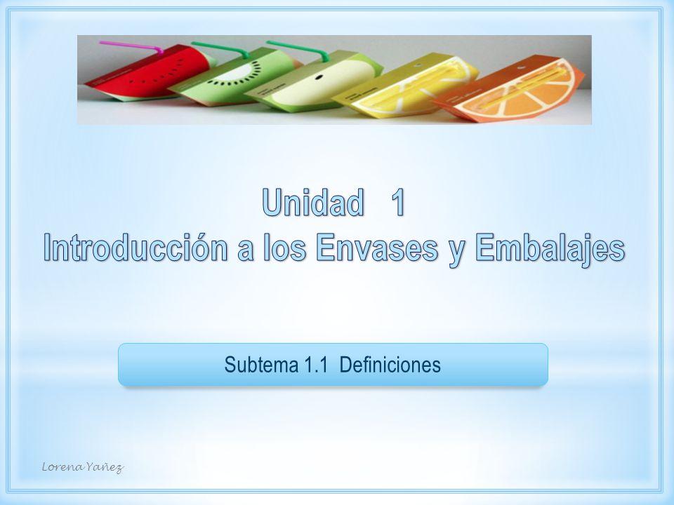 Fin 1/1 Clasificación de los Embalajes Lorena Yañez