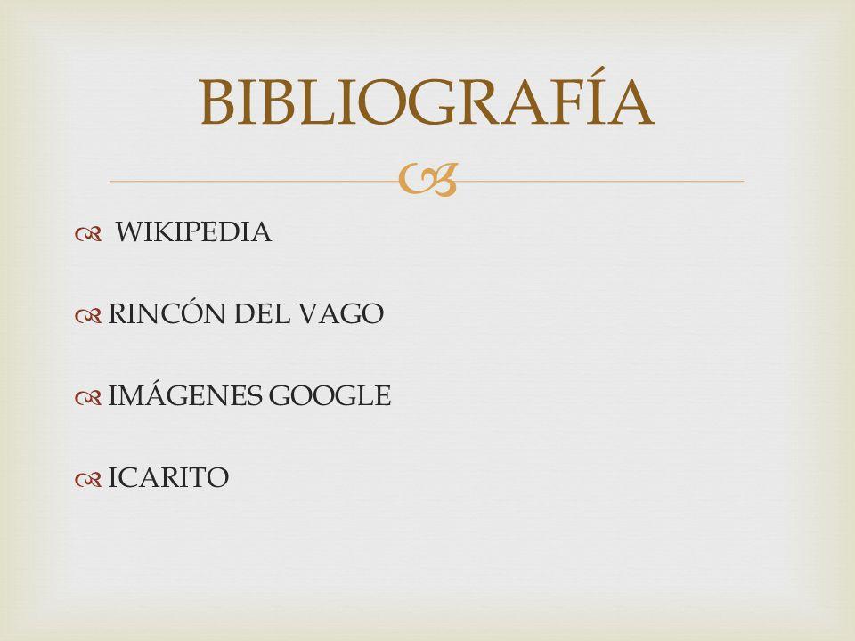 WIKIPEDIA RINCÓN DEL VAGO IMÁGENES GOOGLE ICARITO BIBLIOGRAFÍA