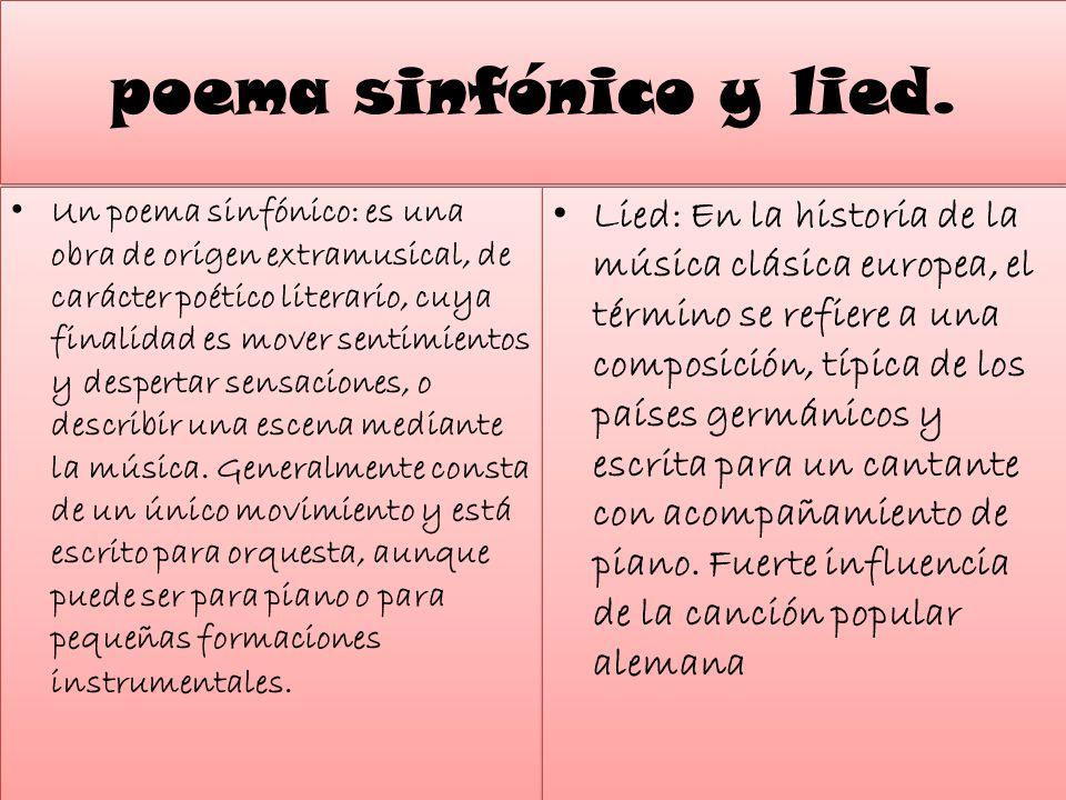 3.- La ópera del romanticismo.