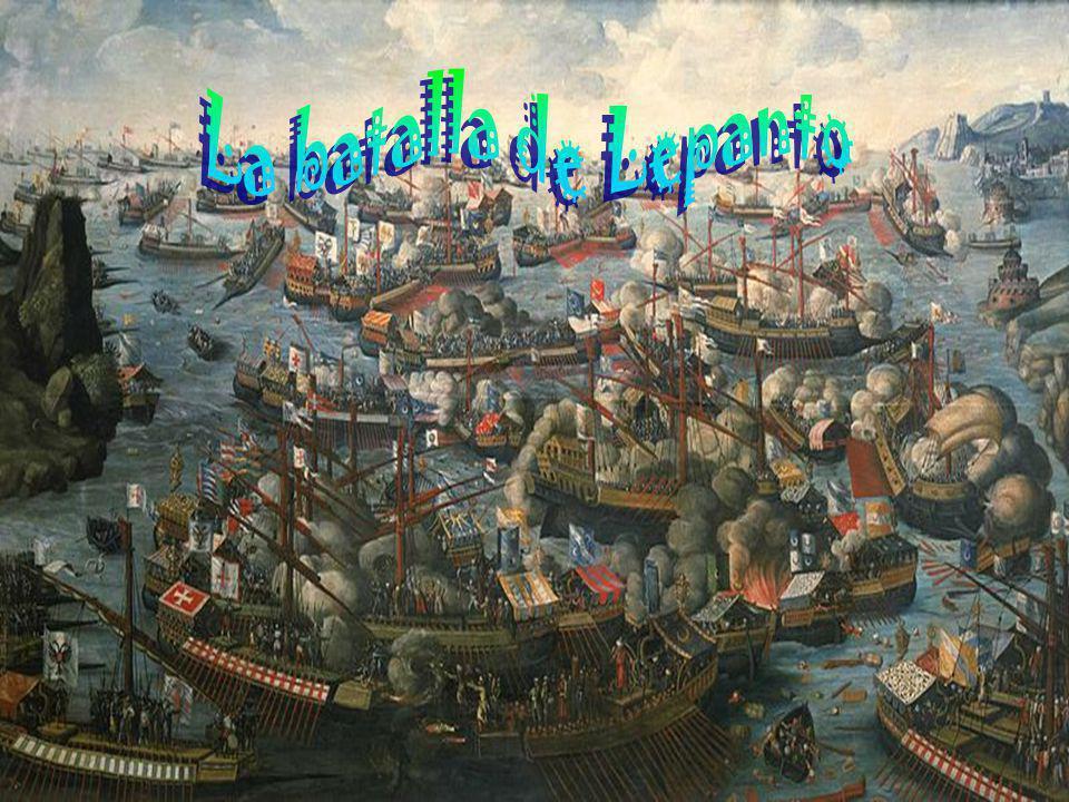 La batalla de Lepanto fue un combate naval de capital importancia que tuvo lugar el 7 de octubre de 1571 en el golfo de Lepanto, frente a la ciudad de Naupacto (mal llamada Lepanto), situado entre el Peloponeso y Epiro, en la Grecia continental.