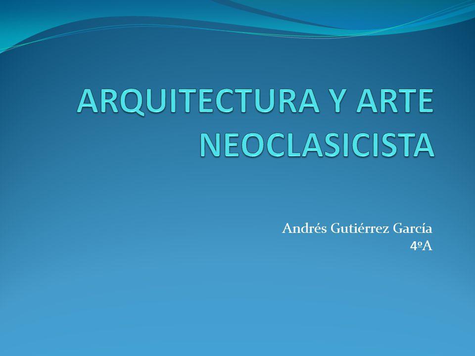 El arte neoclásico llega motivado por la nueva atracción que despierta el mundo clásico, el interés surgido por la arqueología, las excavaciones de Herculano y Pompeya y el rechazo hacia las formas del barroco.