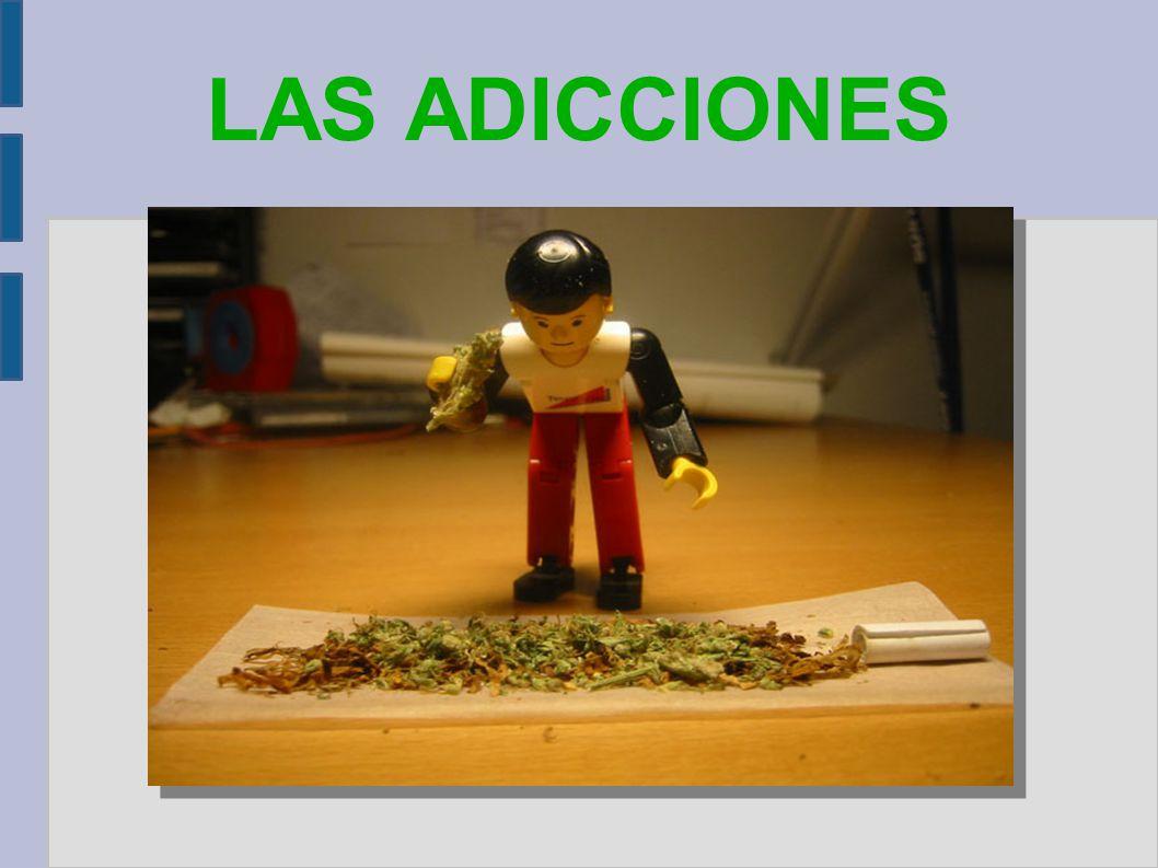 ¿Qué son las adicciones.Una adicción es una enfermedad física y psicoemocional,según la OMS.