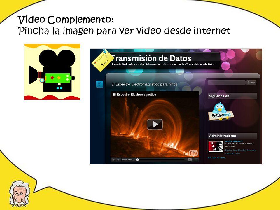 Video Complemento: Pincha la imagen para ver video desde internet