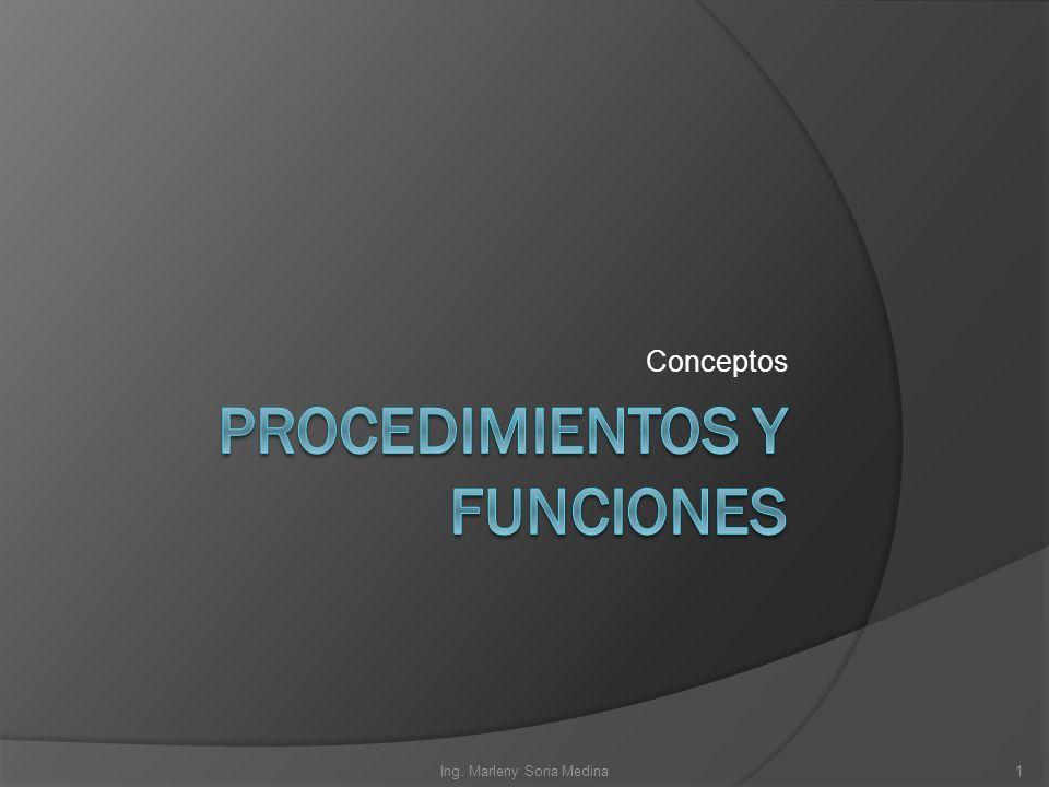 Conceptos Ing. Marleny Soria Medina1